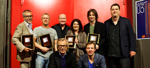 "German Jazz Gold Award for Nils Landgren ""Eternal Beauty"""