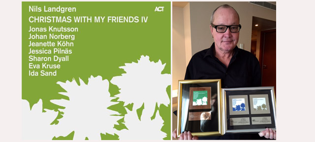 Nils Landgren Christmas With My Friends IV is out!
