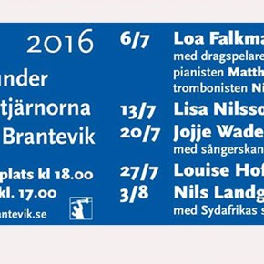 Jazz Under The Stars in Brantevik -  2016 Edition!