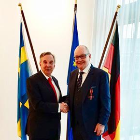 Nils Landgren to receive the German Order Of Merit