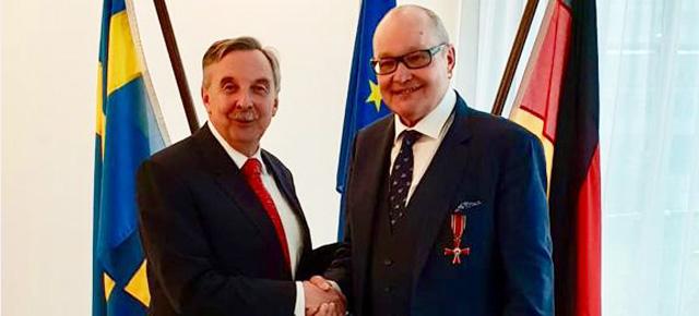 Nils Landgren to receive the German Order Of Merit - Bundesverdienstkreuz