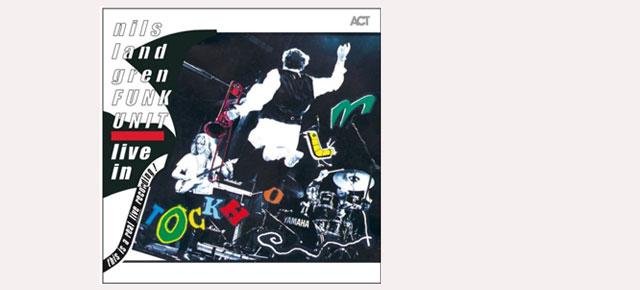 """Nils Landgren """"Live in Stockholm"""" in a 2 Vinyl LP is out!"""